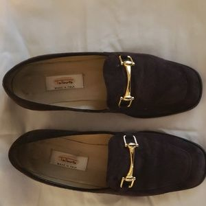 Talbots chocolate suede shoes